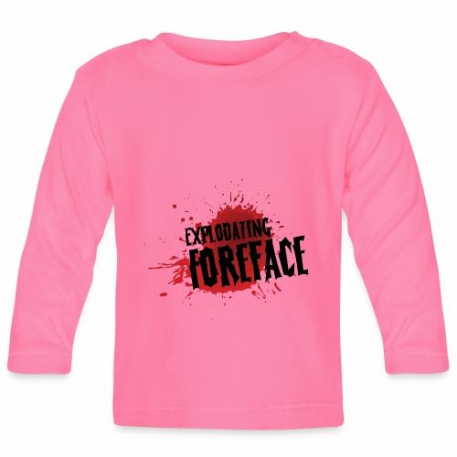 Eplodating Foreface - Baby Long Sleeve T-Shirt