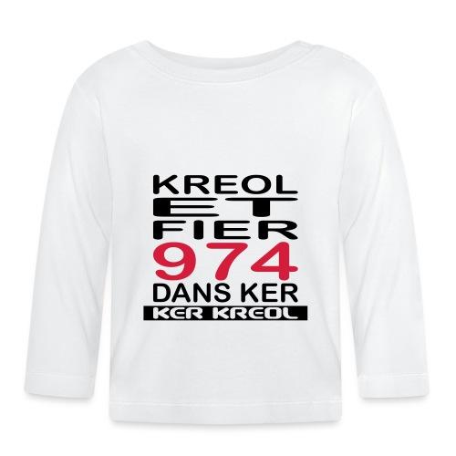 Kreol et Fier - 974 ker kreol - T-shirt manches longues Bébé
