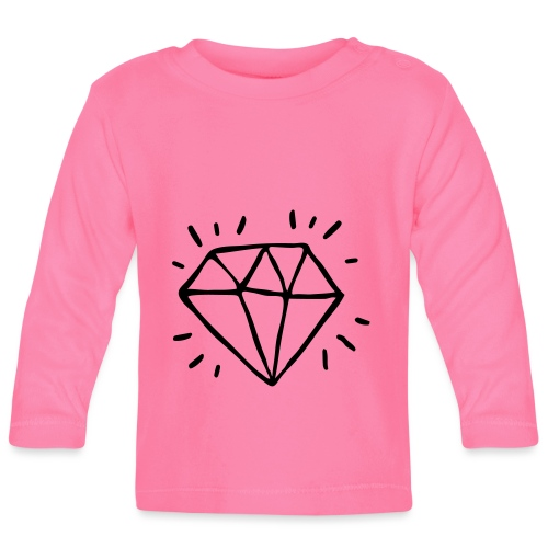 diamant - T-shirt manches longues Bébé