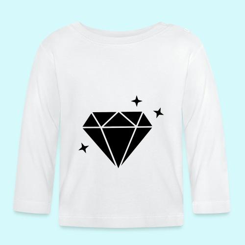 Diamant 2 - Baby Langarmshirt