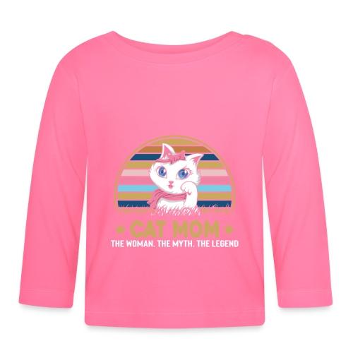 CAT MOM - T-shirt manches longues Bébé