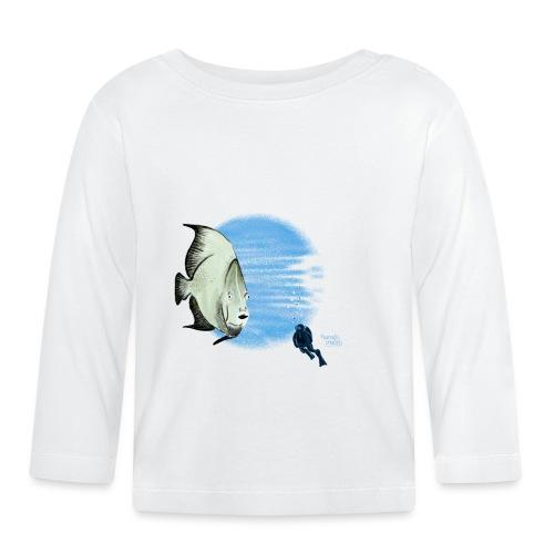 Selfie fish - T-shirt manches longues Bébé