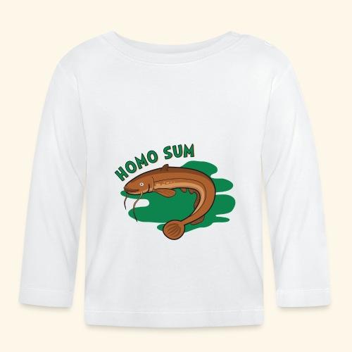 Homo sum ;) - Koszulka niemowlęca z długim rękawem