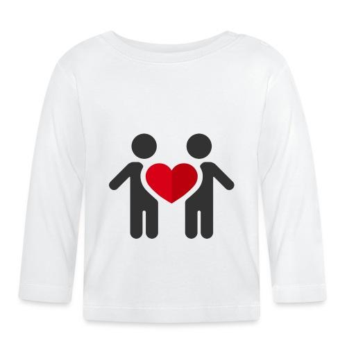 Chemise amour - T-shirt manches longues Bébé
