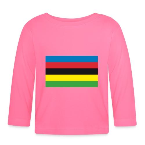 Cycling_World_Champion_Rainbow_Stripes-png - T-shirt