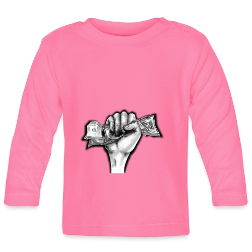 Puño Dolar - Camiseta manga larga bebé
