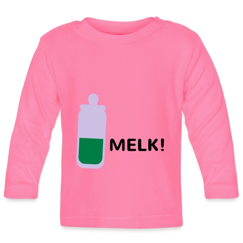 Grappige Rompertjes: Melk - T-shirt