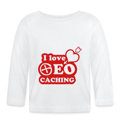 I love Geocaching - 1color - 2011 - Baby Langarmshirt
