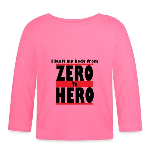 Zero To Hero - Vauvan pitkähihainen paita