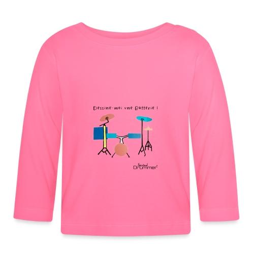 Azia Drum - Baby Long Sleeve T-Shirt