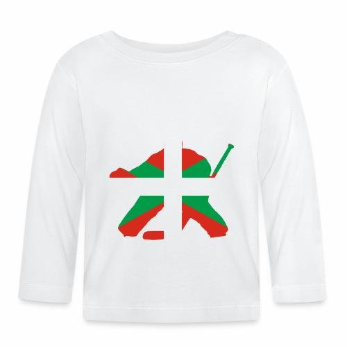 goalie et basque - T-shirt manches longues Bébé