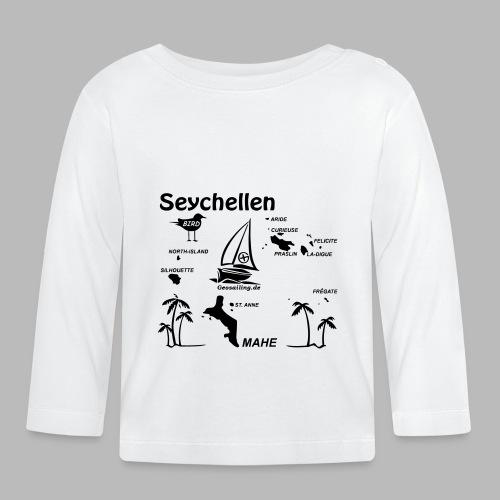Seychellen Insel Crewshirt Mahe etc. - Baby Langarmshirt