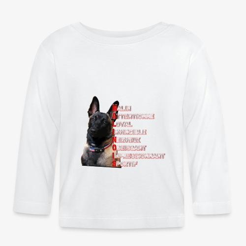 malinois - T-shirt manches longues Bébé