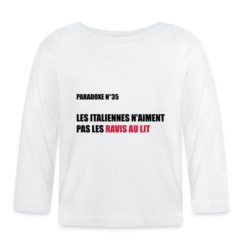PARADOXE ITALIENNES - T-shirt manches longues Bébé