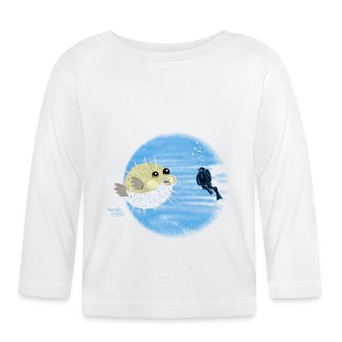Puffer fish - T-shirts - T-shirt manches longues Bébé