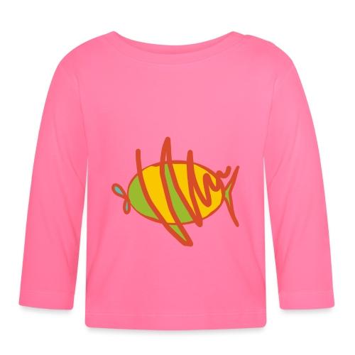 fish - Baby Langarmshirt