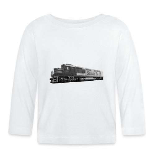Lokomotive Santa Fe EMD F7 USA - Baby Langarmshirt