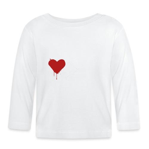 coeurargent (blanc) - T-shirt manches longues Bébé