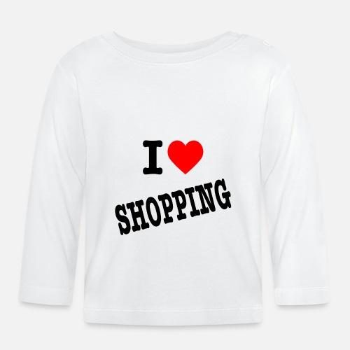 I Love Shopping (Ik Hou van Winkelen) - T-shirt