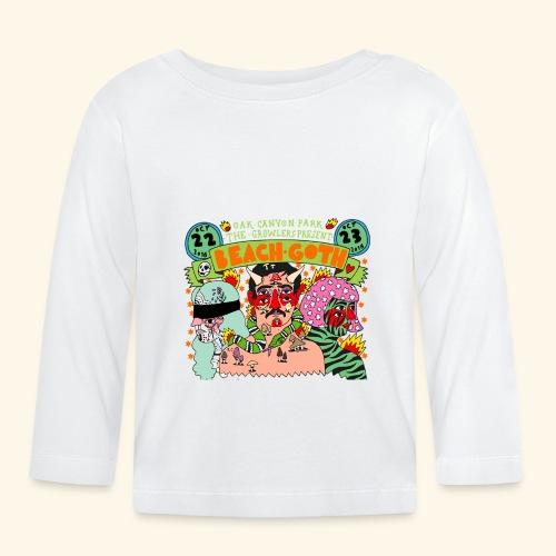 beach goth 2016 - T-shirt manches longues Bébé