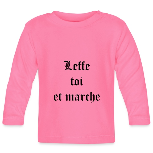 Leffe toi et marche copie - T-shirt manches longues Bébé