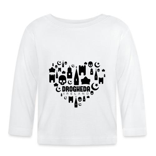Drogheda Black - Baby Long Sleeve T-Shirt