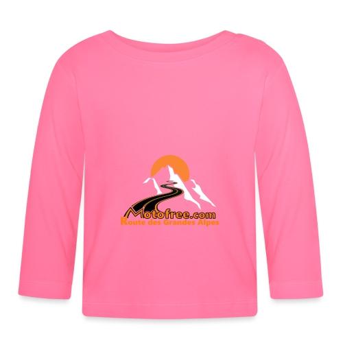 logo motofree orange - T-shirt manches longues Bébé