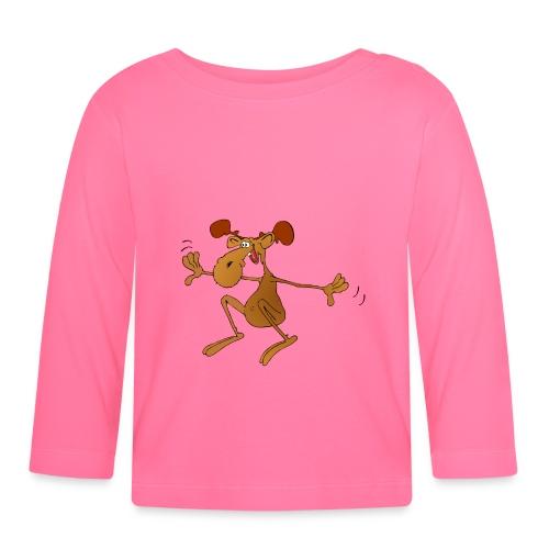 elch huepft - Baby Langarmshirt