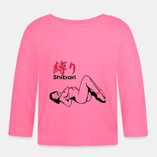 bound Shibari 2col - Baby Langarmshirt