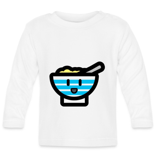 Cute Breakfast Bowl - Baby Long Sleeve T-Shirt