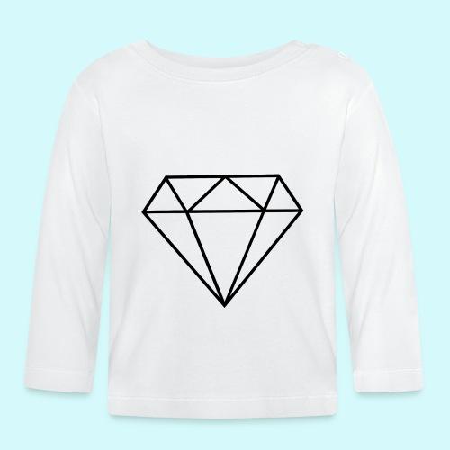 Diamant 5 - Baby Langarmshirt