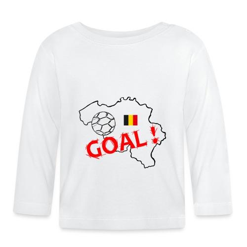 football Belgique - T-shirt manches longues Bébé