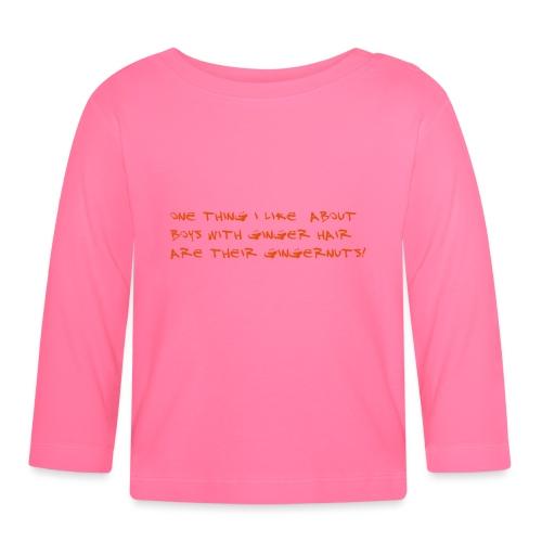 gingernuts - Vauvan pitkähihainen paita