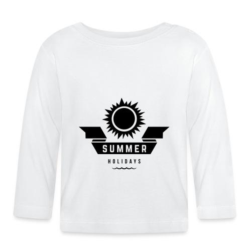 Summer holidays - Vauvan pitkähihainen paita