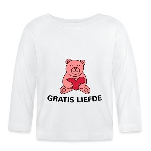 Grappige Rompertjes: Gratis liefde - T-shirt