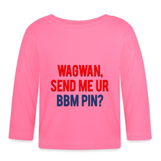 Wagwan Send BBM Clean