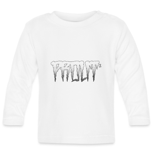 Horror PROUT - black - Baby Long Sleeve T-Shirt