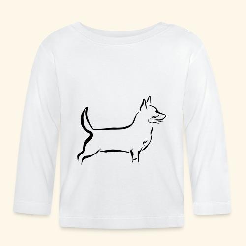 Lancashire Heeler - Vauvan pitkähihainen paita