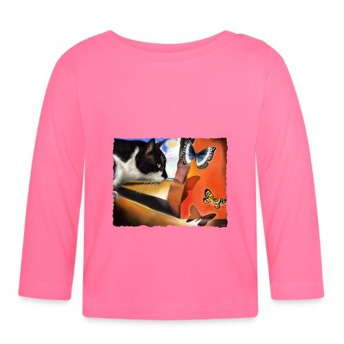 Il gatto di Dalí - Maglietta a manica lunga per bambini