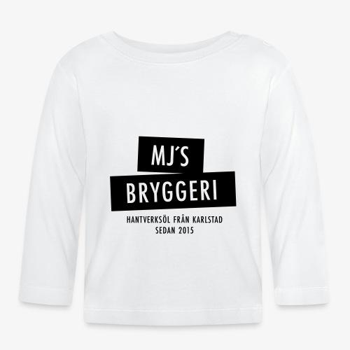 MJs logga - Långärmad T-shirt baby