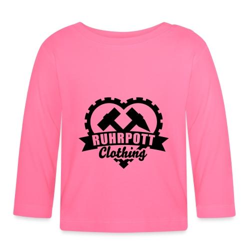 ruhrpott clothing 1c sw - Baby Langarmshirt