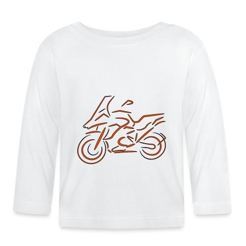 Motorrad Fahrer, Bike, Biker, 1200 - Baby Langarmshirt