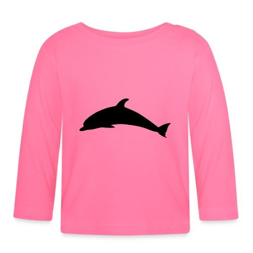T-Shirt Dolphin - Baby Langarmshirt