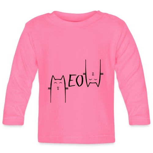 MEOW - T-shirt manches longues Bébé