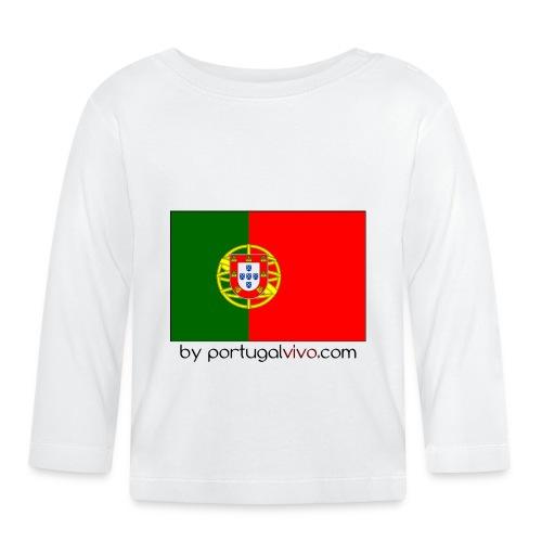 Drapeau Portugal - T-shirt manches longues Bébé