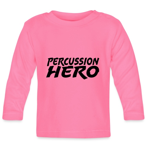 Percussion Hero - Langarmet baby-T-skjorte