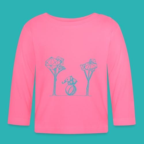 Rotolare_o_capitombolare_lightblu-png - Maglietta a manica lunga per bambini