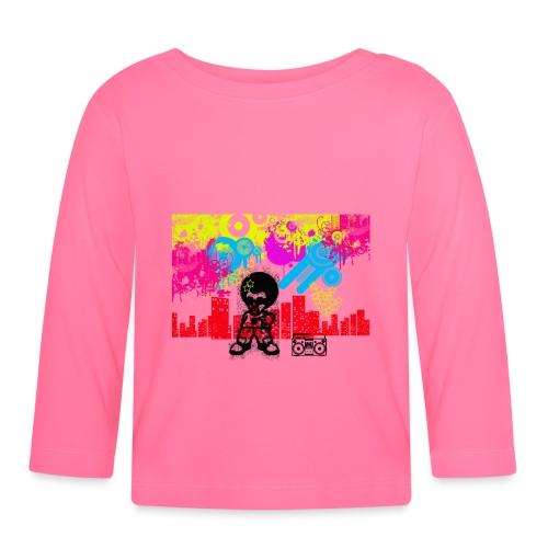 Borse personalizzate con foto Dancefloor - Maglietta a manica lunga per bambini