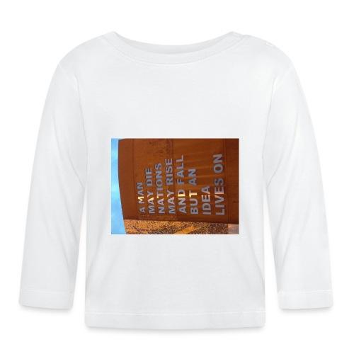 An Idea Lives On - Baby Long Sleeve T-Shirt