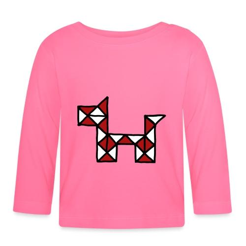 Dog pet twist puzzle toy best friend - Baby Long Sleeve T-Shirt